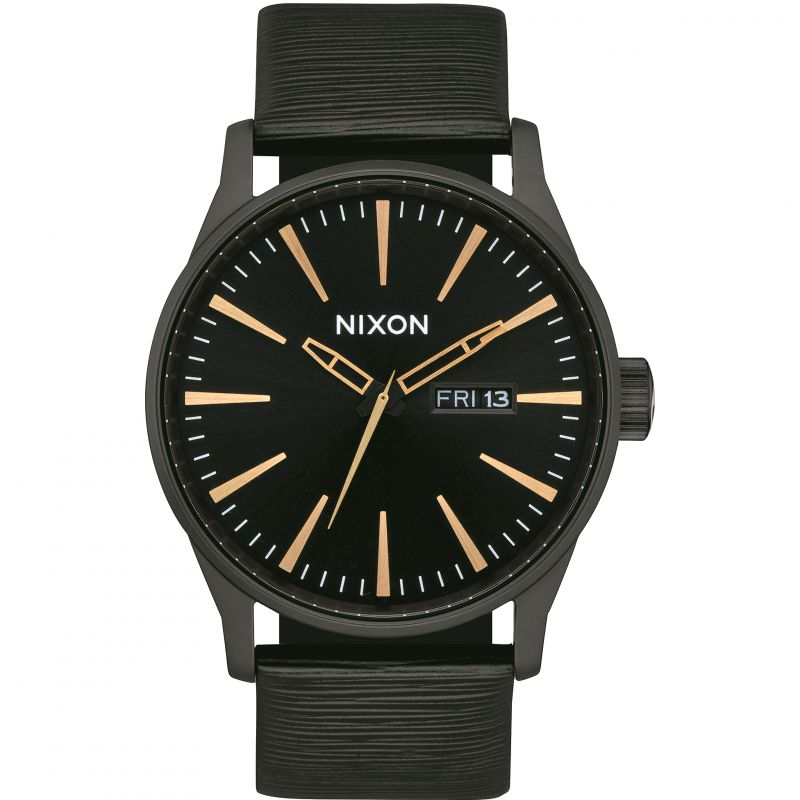 Mens Nixon Sentry Leather Watch from Nixon