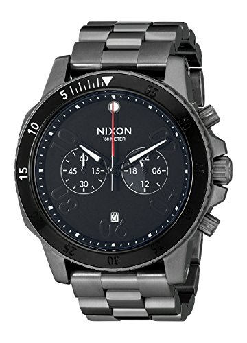 NIXON Men's Analogue Quartz Watch with Stainless-Steel Strap A5491531-00 from NIXON