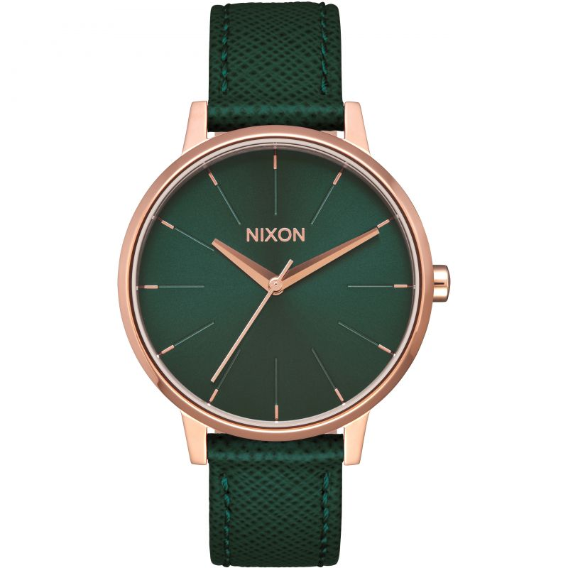 Unisex Nixon The Kensington Leather Watch from Nixon