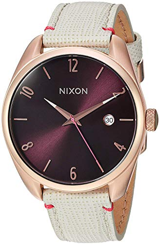 Nixon Womens Analogue Quartz Watch with Textile Strap A4731890 from NIXON