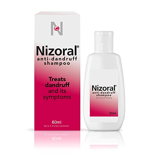 Nizoral Anti Dandruff Shampoo, Perfect for Dry Flaky and Itchy Scalp - 60 ml from Nizoral