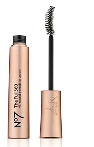 Exclusive New No7 The Full 360 Mascara 7ml (BLACK) from No7