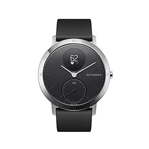 Withings Unisex's Steel HR - Heart Rate And Activity Watch, Black-40mm, 40mm from Withings