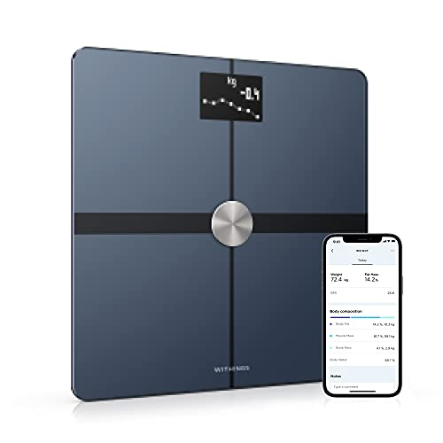 Nokia Body+ – Body Composition Wi-Fi Scale, black from Nokia health
