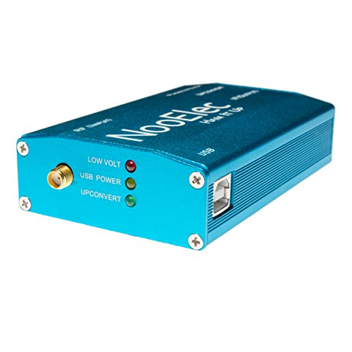 Extruded Aluminum Enclosure Kit, Blue, for Ham It Up v1.3 RF Upconverter for NESDR and RTL-SDR radios from NooElec