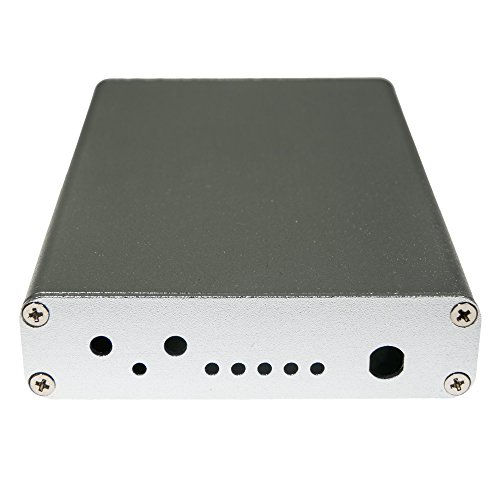 NooElec Extruded Aluminum Enclosure Kit for HackRF One by Great Scott Gadgets (Silver) from NooElec