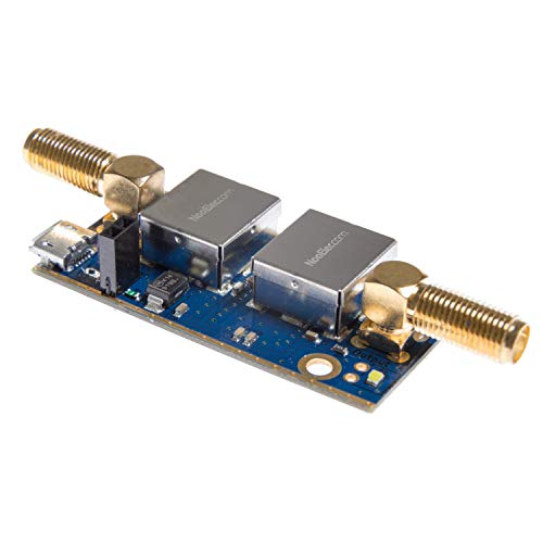NooElec SAWbird+ GOES Barebones - Premium SAW Filter & Cascaded Ultra-Low Noise LNA Module for NOAA (GOES/LRIT/HRIT) Applications. 1688MHz Center Frequency. from NooElec