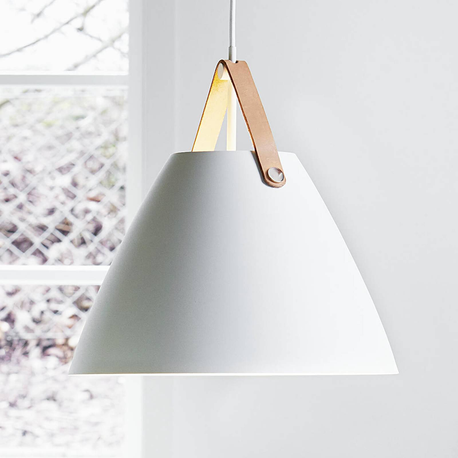 Strap 36 pendant lamp with leather hanger from Nordlux