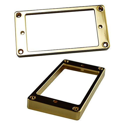 Metal Pickup Surround - Bridge - Gold from Northwest Guitars