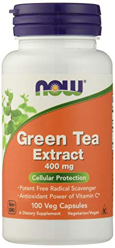 NOW Green Tea Extract 400mg+60mg Vit. C 100 caps from Now Foods