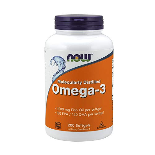 Nowfoods Omega 3 Fish Oil 200 Softgels from Now Foods