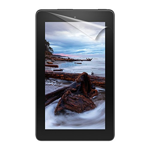 "NuPro Fire 7 Screen Protector Kit (7"" Tablet, 7th Generation – 2017 release), 2-Pack, Clear from NuPro"