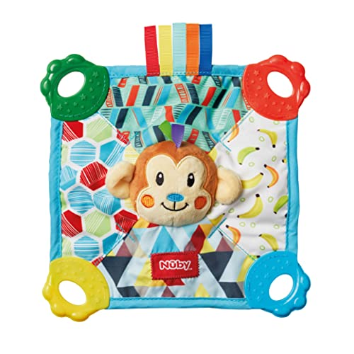 Nuby Teething Blankie (Styles May Vary) from Nuby