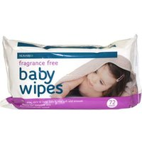Numark FRAGRANCE FREE Baby Wipes 72 from Numark