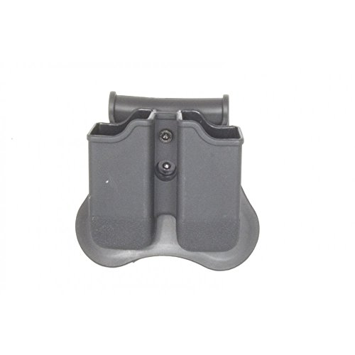 WE Airsoft Europe Nuprol EU Series Polymer Double Mag Pouch for Glock from WE Airsoft Europe