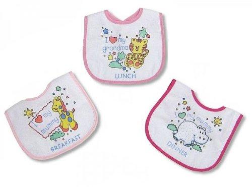 Baby Laetzchen 3 Pack – Meals Maedchen – PEVA Back from Nursery Time