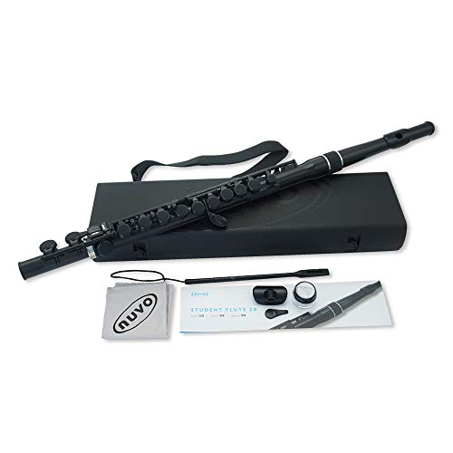 Nuvo N230SFBK student flute 2.0 in black from Nuvo