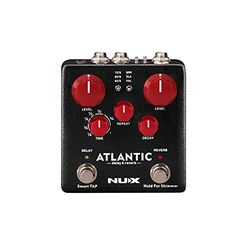 NUX | Atlantic Delay & Reverb Pedal from NUX