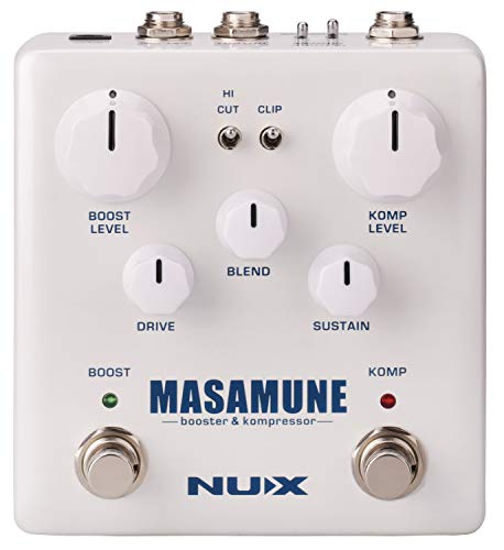 NUX | Masamune Booster & Kompressor Pedal from NUX