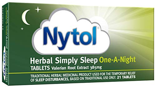 Nytol Herbal Simply Sleep One A Night Tablets - Traditional Herbal Remedy Used for Sleeplessness Relief - 21 Tablets from Nytol