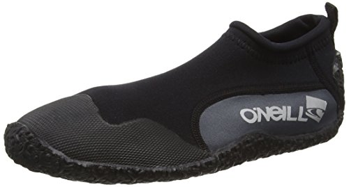 O'Neill Kid's Reactor Reef Boots - Black/Coal, Size UK 0 - 1 from O'Neill