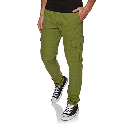 O'Neill Men's Tapered Cargo Pants, Olive Branch, Size 31 from O'Neill