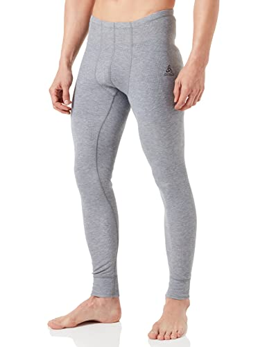 Odlo Men's Thermal Trousers, Men, Pants Warm, grey melange from ODLO