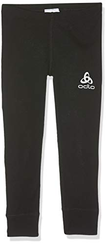 ODLO(オドロ Kids Bl Bottom Long Active Warm Kids Pants - Black, 116 from ODLO