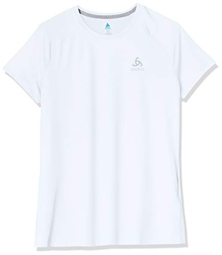 ODLO Women's T-Shirt crew neck Sillian S, White, XL from ODLO