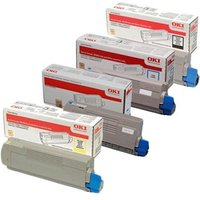 Original Multipack OKI C332dn Printer Toner Cartridges (4 Pack) -CB1-46508713-16K/Y_16816 from OKI