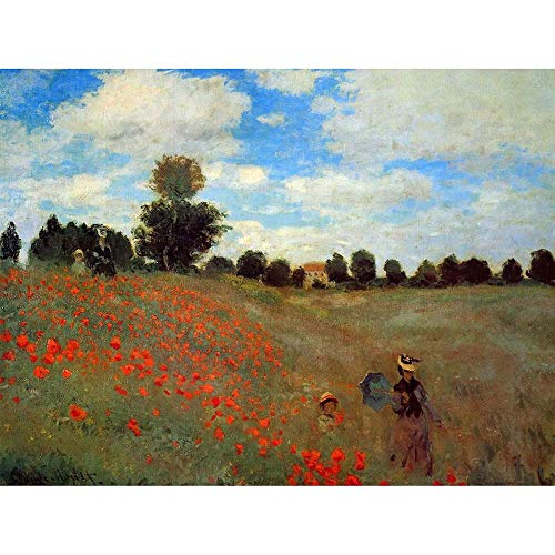 CLAUDE MONET LES COQUELIQUOTS OLD MASTER ART PAINTING PRINT 12x16 inch 30x40cm POSTER ART 542OM from OLD MASTERS AND CLASSICS