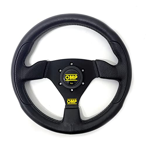 Omp OMPOD/1989/NN Steering Wheel, Black, Unique from OMP