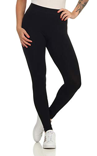 online retailer cb4a7 ea6f2 ONLY Women s Onllive Love New Leggings Noos Black 38 (Size  Medium) from  ONLY