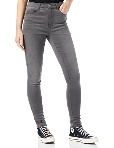 ONLY Women's Onlroyal High Sk DNM Jeans Bj312 Noos Skinny Jeans, Grey (Dark Denim Dark Denim), W32/L30 (Manufacturer Size: X-Large) from ONLY