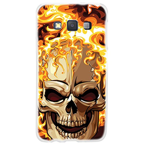 OOH!COLOR 025609 _ FSC011 Skull Death Zombie Horror with Pattern Soft TPU Silicone Bumper Case for Samsung Galaxy A3 A300 Clear from OOH!COLOR