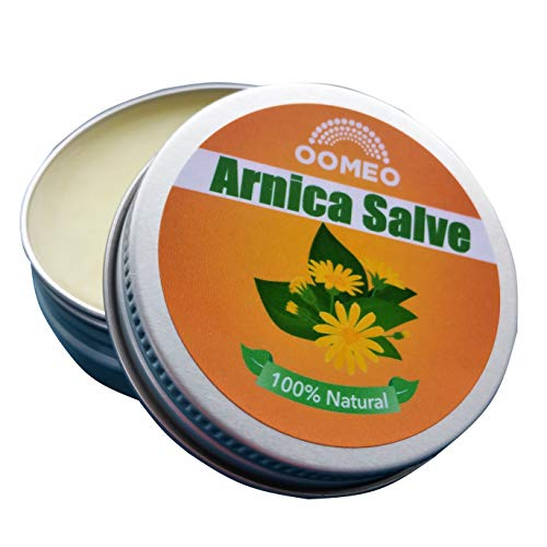 Arnica Salve, All The Benefits of Arnica Oil in a Pot with Lavender, Frankincense and Rosemary Essential Oils - 30ml from OOMEO