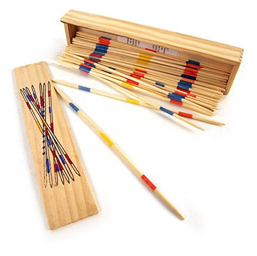 Wooden Boxed Pick Up Sticks Mikado Set from OOTB