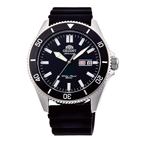 Orient Mens Analogue Automatic Watch with Rubber Strap RA-AA0010B19B from ORIENT