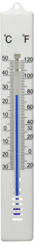 Oryx - Indoor/Outdoor Thermometer Fahrenheit/Celsius. Plastic. 17cm. from ORYX