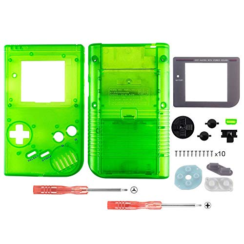 OSTENT Full Housing Shell Case Cover Replacement for Nintendo GB Game Boy Console Color Green from OSTENT