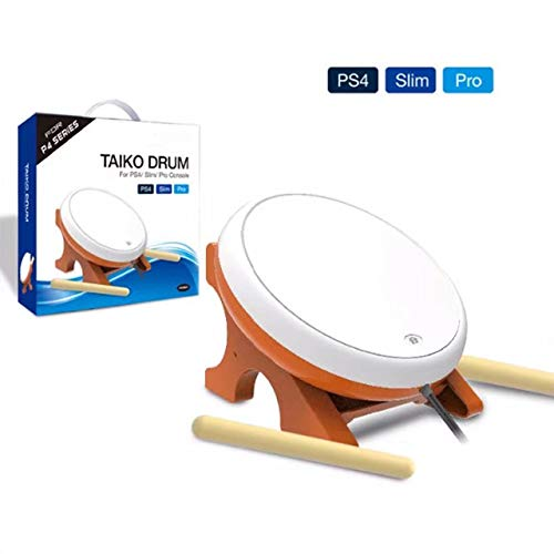 OSTENT Mini Taiko No Tatsujin Master Drum Controller Japanese Traditional Instrument for Sony PS4 Slim Pro from OSTENT