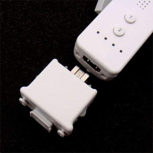 OSTENT Motionplus Motion Plus + Silicone Case Compatible for Nintendo Wii Remote Controller Game Color White from OSTENT