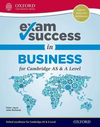 Exam Success in Business for Cambridge AS & A Level from OUP Oxford