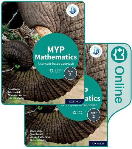 MYP Mathematics 2: Print and Online Course Book Pack (Ib Myp) from OUP Oxford