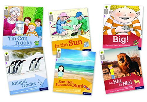 Oxford Reading Tree Explore with Biff, Chip and Kipper: Oxford Level 1: Mixed Pack of 6 from OUP Oxford