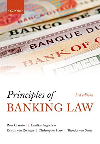 Principles of Banking Law from OUP Oxford