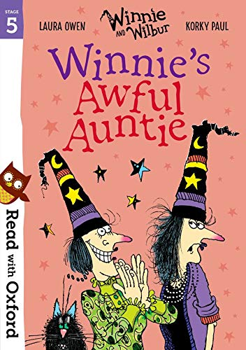 Read with Oxford: Stage 5: Winnie and Wilbur: Winnie's Awful Auntie from OUP Oxford