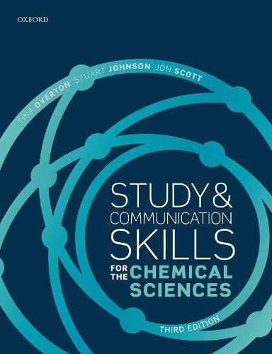 Study and Communication Skills for the Chemical Sciences from OUP Oxford