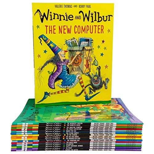 Winnie and Wilbur Collection 10 Books Set By Valerie Thomas from OUP