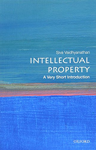 Intellectual Property: A Very Short Introduction (Very Short Introductions) from OUP USA